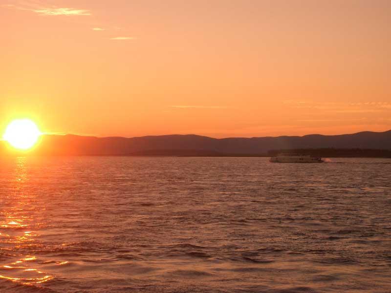 Усть-Кут.RU : Изумительный закат