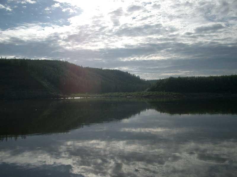 Усть-Кут.RU : Берег реки Лены