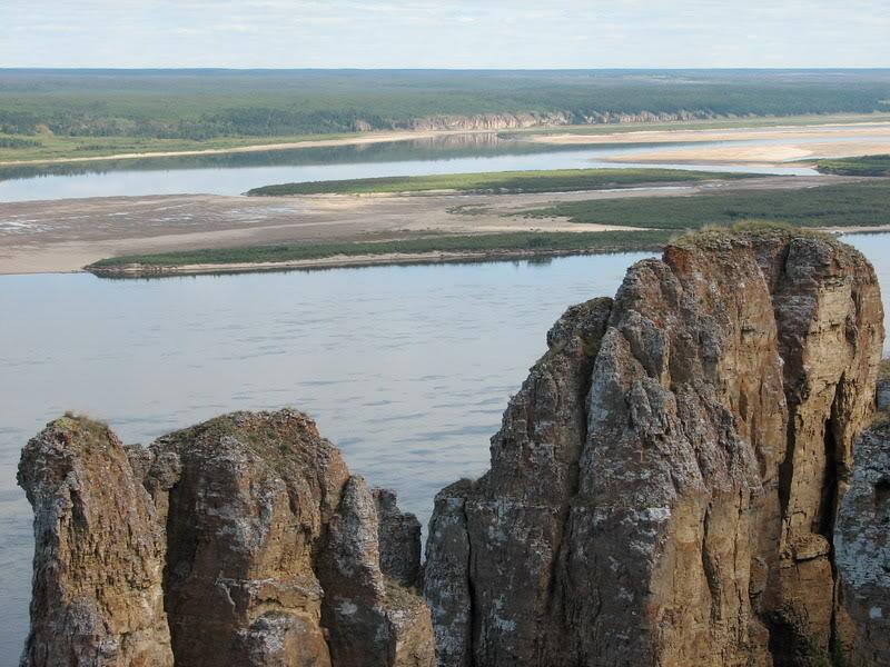 Усть-Кут.RU : Красивый вид со скал на реку