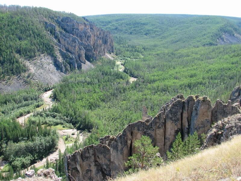 Усть-Кут.RU : Долина маленькой речушки которая впадает в Лену