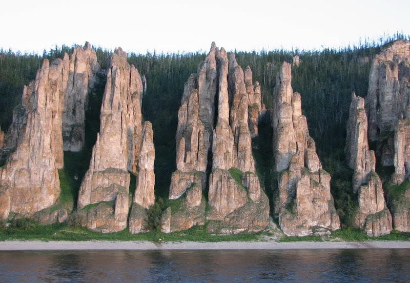 Усть-Кут.RU : Необычные скалы