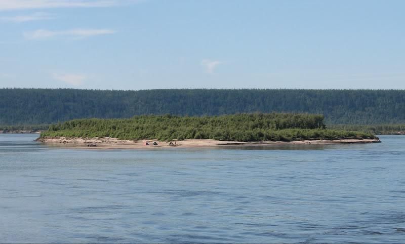 Усть-Кут.RU : Одинокий остров