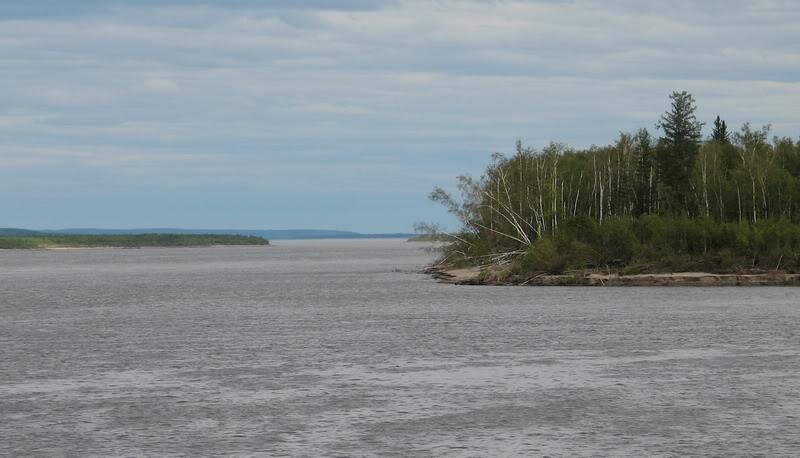 Усть-Кут.RU : Один из рукавов реки Алдан