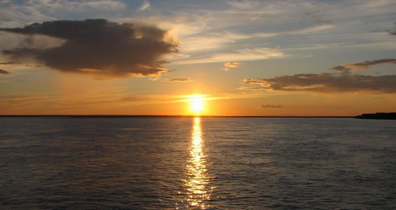 Усть-Кут.RU : Умопомрачительно красивый закат