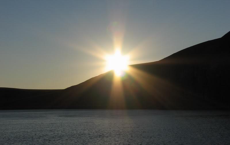 Усть-Кут.RU : Восход солнца на острове Тит-Ары