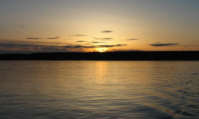 Усть-Кут.RU : Закат на Кангаласском мысе