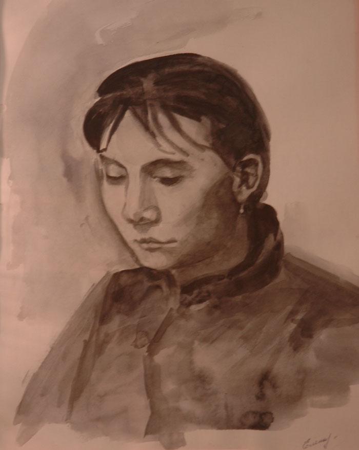 Усть-Кут.RU : Портрет нарисованный красками