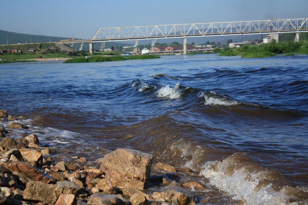 Усть-Кут.RU : Автомобильный мост через р.Лена (РЭБ)