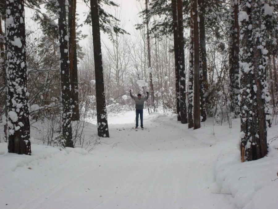 Усть-Кут.RU : Катышевцева Т.С. Зима в Усть-Куте. Лыжная база
