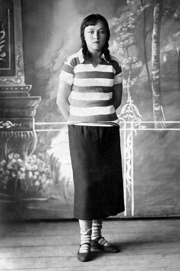 Усть-Кут.RU : Нарицынa Г.С. Александра. Село Усть-Кут, 1934 год.