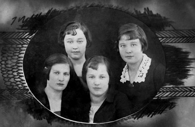 Усть-Кут.RU : Нарицынa Г.С. Неразлучные подруги. Село Усть-Кут, 1936 год.