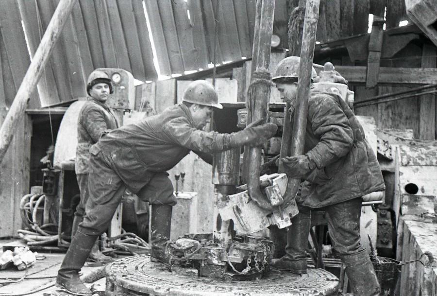 Усть-Кут.RU : Москвин М.Ф. Будни на буровой