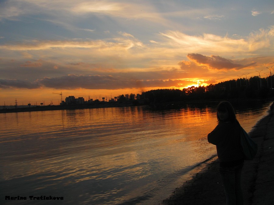 Усть-Кут.RU : Третьякова М.А. Иркутский закат
