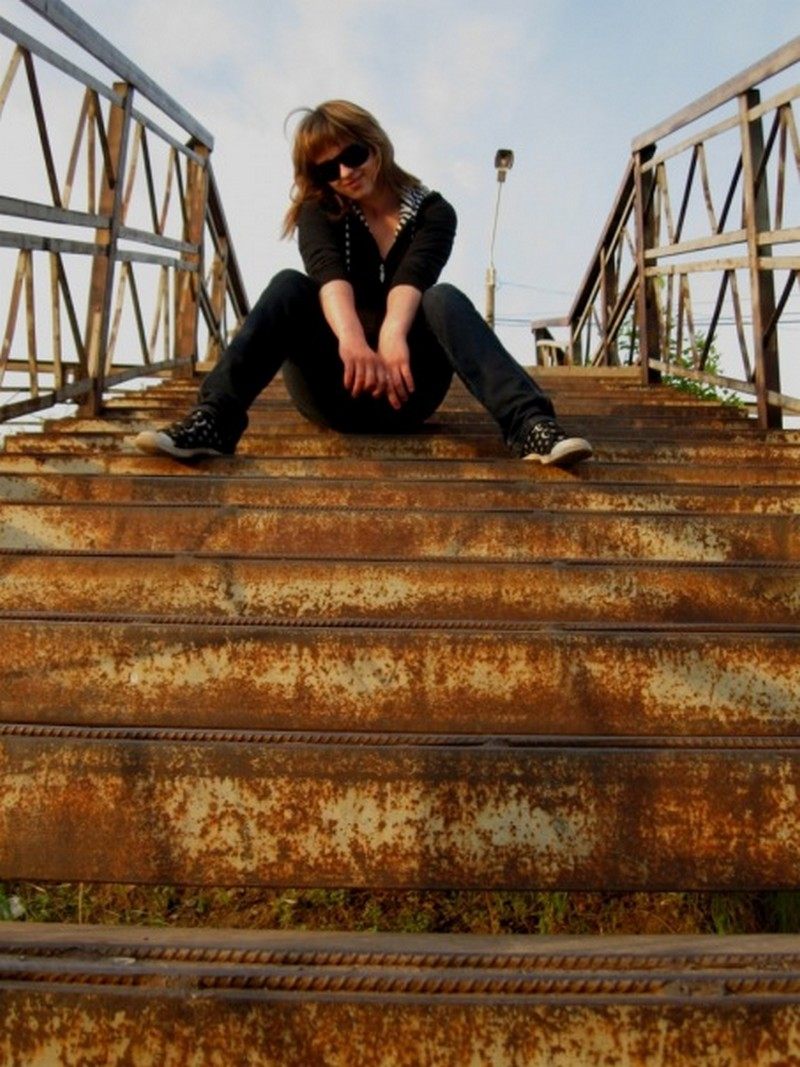 Усть-Кут.RU : Третьякова М.А. На мосту
