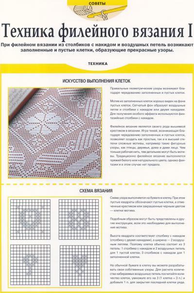 Усть-Кут.RU : Техника филейного вязания 1