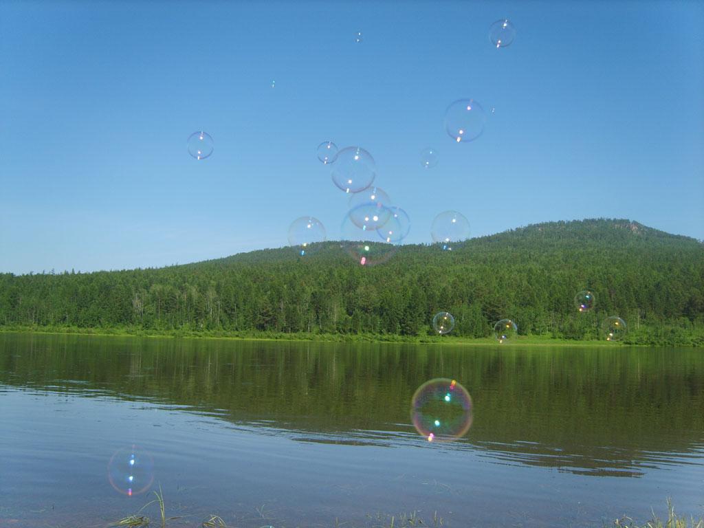Усть-Кут.RU : Мыльные пузырьки