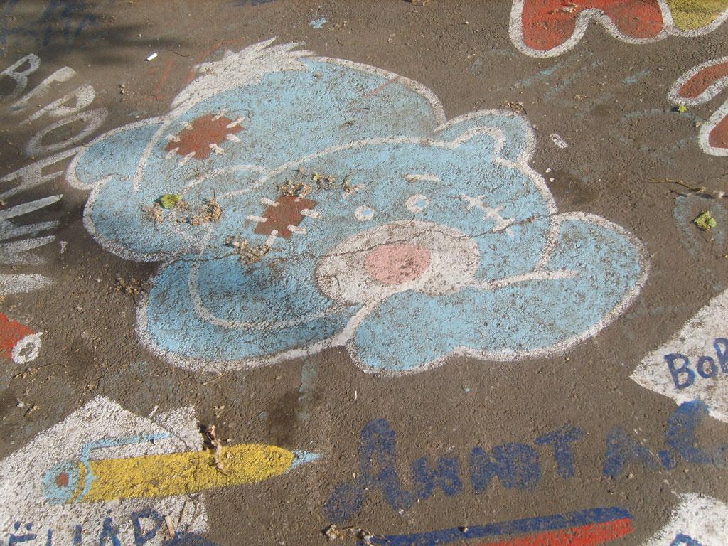 Усть-Кут.RU : Рисунки на асфальте