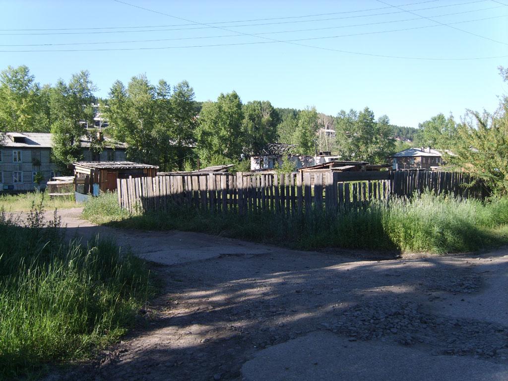 Усть-Кут.RU : Забор и дома