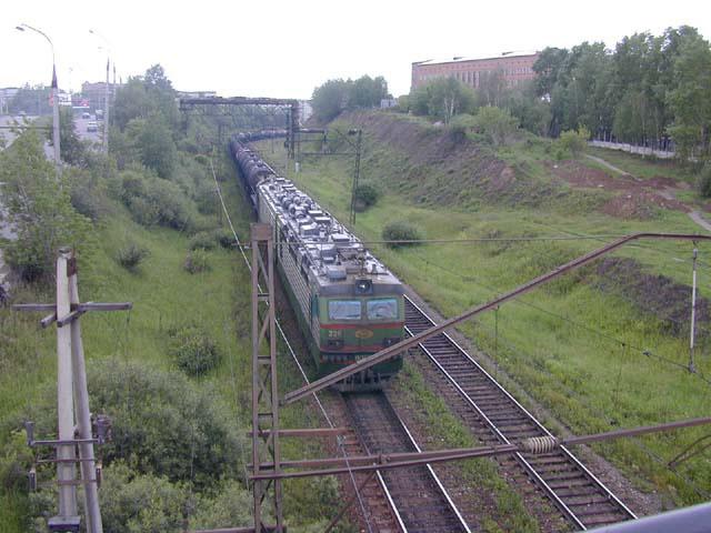 Усть-Кут.RU : Железная дорога