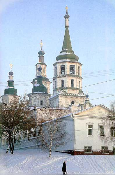 Усть-Кут.RU : Церковь зимой