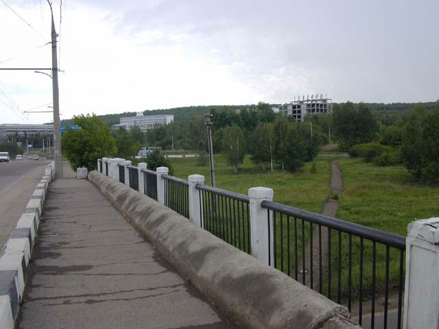 Усть-Кут.RU : По мосту