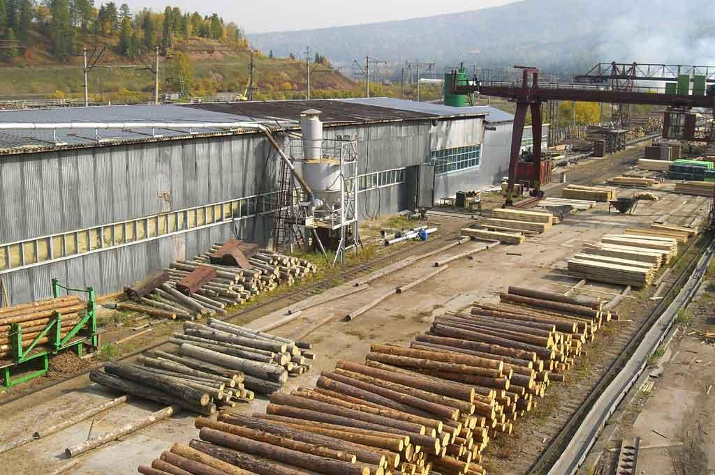 Усть-Кут.RU : Деревообрабатывающий цех