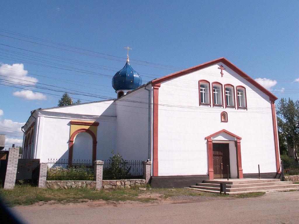 Усть-Кут.RU : Храм в Киренске