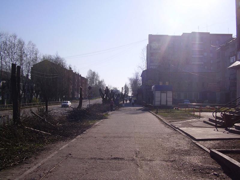 Усть-Кут.RU : Тротуар