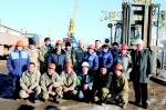 Работники основного производственного цеха гордятся тем, что работают в Алроса-Терминал