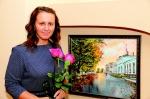Сначала Ольга занималась у Михаила Азизова. Тогда и написала свою первую картину