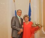 Главными действующими лицами праздника стали супруги Коваленко - Григорий Николаевич и Наталья Николаевна