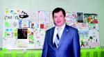 А. Коломиец гордится творчеством детей сотрудников ИНК
