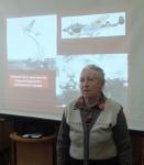 Представительница поколения детей войны В.Г. Михайловна