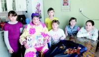 Участница Сталинградской битвы встречает гостей