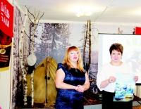 А. Половикова и Т. Душина рассказали о персональной выставке К.Д. Мамурковой