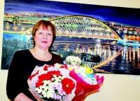 Над этой картиной Ольга Слесарева работала более четырех месяцев
