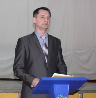 О.Е. Рубцов выступил с подробным отчетом