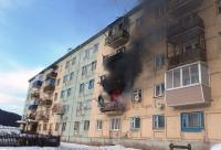 И снова пожар в Янтале