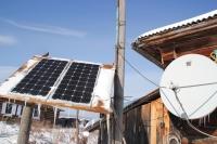 В Тарасово есть даже солнечная батарея