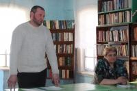 Сергей Олейников отвечает на вопросы односельчан