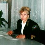 Е. Кривошеина - инженер лесхоза п. Ручей
