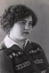 Н.Ф. Собаченкова в юности, 1961 г.