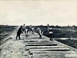 На строительстве Сибирской железной дороги