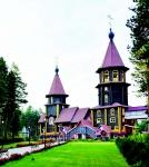 Храм Благовещения в Саянске