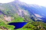 Озеро Сердце на вершине горного массива Хамар-Дабана