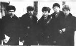 1969 год, Иркутск, слёт рабселькоров (слева - В.И. Зуев, справа - М.Ф. Москвин)