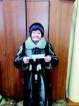 "Т.В. Пшенникова выиграла сертификат от магазина ""Ириус"""