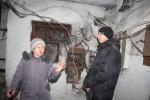 В.К. Барчук недовольна состоянием подвала, в том числе электросистемы