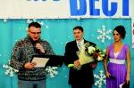 """С.Г. Анисимов поздравляет """"ЛВ"""" от лица коллектива ИНК"""