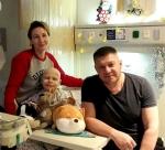 Наталья , Семён и Юрий Антипины